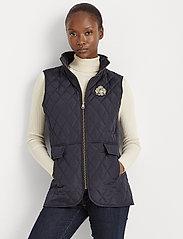 Lauren Ralph Lauren - Quilted Crest Vest - puffer vests - dark navy - 0