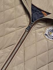 Lauren Ralph Lauren - Quilted Crest Vest - puffer vests - taupe - 3
