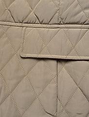 Lauren Ralph Lauren - Quilted Crest Vest - puffer vests - taupe - 4