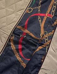 Lauren Ralph Lauren - Quilted Crest Vest - puffer vests - taupe - 5