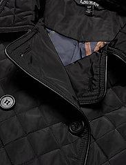 Lauren Ralph Lauren - Quilted Trench Coat - quiltede jakker - black - 5