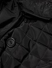 Lauren Ralph Lauren - Quilted Trench Coat - quiltede jakker - black - 6