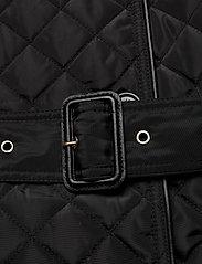 Lauren Ralph Lauren - Quilted Trench Coat - quiltede jakker - black - 7