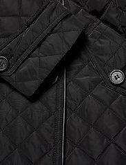 Lauren Ralph Lauren - Quilted Trench Coat - quiltede jakker - black - 9