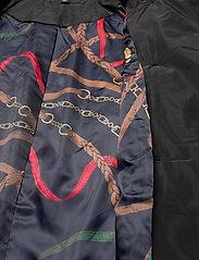 Lauren Ralph Lauren - Quilted Trench Coat - quiltede jakker - black - 8