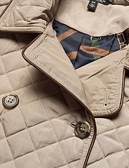 Lauren Ralph Lauren - Quilted Trench Coat - quiltede jakker - taupe - 5