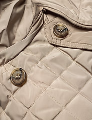 Lauren Ralph Lauren - Quilted Trench Coat - quiltede jakker - taupe - 6