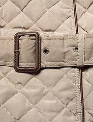 Lauren Ralph Lauren - Quilted Trench Coat - quiltede jakker - taupe - 7