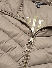 Lauren Ralph Lauren - Packable Quilted Down Jacket - forede jakker - taupe - 5