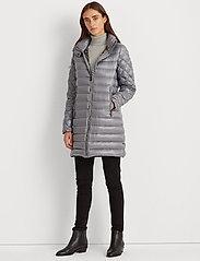 Lauren Ralph Lauren - Packable Quilted Down Coat - dynefrakke - silver - 0
