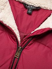 Lauren Ralph Lauren - Hooded Down Coat - forede jakker - chili - 5
