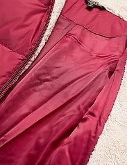Lauren Ralph Lauren - Hooded Down Coat - forede jakker - chili - 7