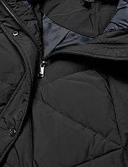 Lauren Ralph Lauren - Quilted Hooded Down Coat - dynefrakke - black - 4