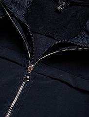 Lauren Ralph Lauren - Hooded Quilted-Bib Jacket - quiltede jakker - navy - 4
