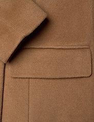Lauren Ralph Lauren - Wool-Blend Maxi Coat - uldfrakker - new vicuna - 3