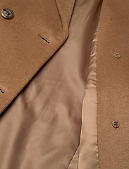 Lauren Ralph Lauren - Wool-Blend Maxi Coat - uldfrakker - new vicuna - 4