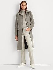Lauren Ralph Lauren - Wool-Cashmere Coat - uldfrakker - light heather gre - 0