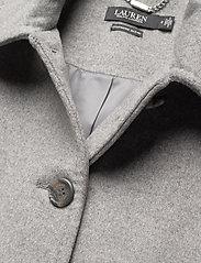 Lauren Ralph Lauren - Wool-Cashmere Coat - uldfrakker - light heather gre - 3