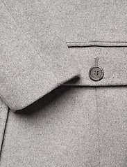 Lauren Ralph Lauren - Wool-Cashmere Coat - uldfrakker - light heather gre - 4