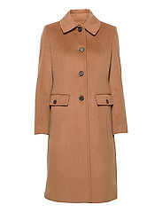 Wool-Cashmere Coat - NEW VICUNA