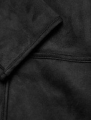 Lauren Ralph Lauren - Reversible Faux-Suede Coat - frakker - black - 4