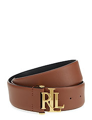 Vachetta Leather Belt - LAUREN TAN