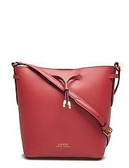 Leather Debby II Mini Drawstring Bag - RASPBERRY GELATO/