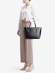 Lauren Ralph Lauren - Saffiano Leather Shopper - shoppers - black - 0