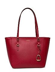 Saffiano Leather Medium Tote - RED