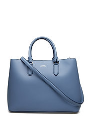 Leather Marcy Satchel