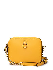 Leather Chain-Link Camera Bag - SUNFLOWER