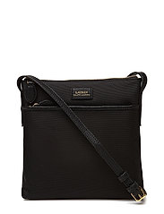 Nylon Crossbody Bag - BLACK