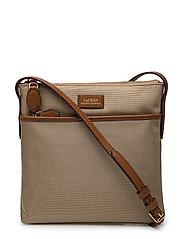 Nylon Crossbody Bag - CLAY
