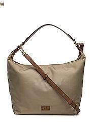 77fa49952 Nylon Hobo Bag (Black) (£63.25) - Lauren Ralph Lauren - | Boozt.com