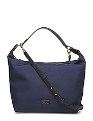 Nylon Hobo Bag - NAVY