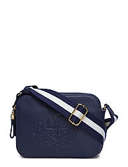 Anchor Leather Camera Bag - NAVY