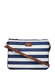 ee397a02be08 Nylon Crossbody Bag - NAVY STRIPE. Lauren Ralph Lauren. Nylon crossbody bag  £89 · Large Pebbled Leather Satchel - BLACK