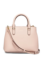 Mini Leather Satchel - MELLOW PINK/PORCI