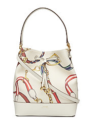 Canvas Debby Drawstring Bag - VANILLA SIG BELTI