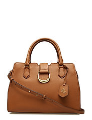 Medium Pebbled Leather Satchel
