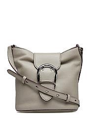 Pebbled Leather Bucket Bag - ALPACA