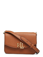 Leather Crossbody Bag - LAUREN TAN