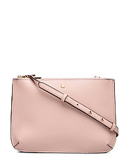 Faux-Leather Carter Crossbody - MELLOW PINK