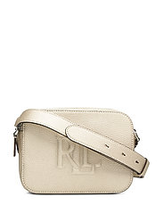 Leather Hayes Crossbody - PLATINO