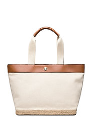 Canvas Medium Tote - NATURAL
