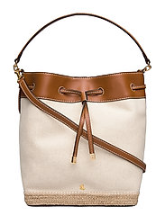 Canvas Debby Drawstring Bag - NATURAL