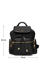 Lauren Ralph Lauren - Nylon Keely Small Backpack - rygsække - black - 5