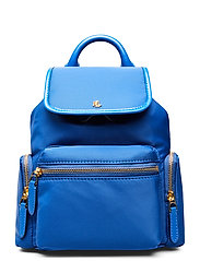 Nylon Keely Small Backpack - MASAI BLUE