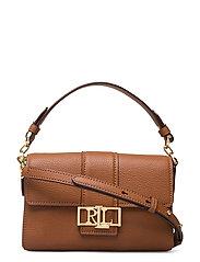 Leather Spencer Shoulder Bag - LAUREN TAN
