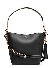 Small Adley Shoulder Bag - BLACK/NUDE